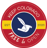Keep Colorado Free & Open - Seal
